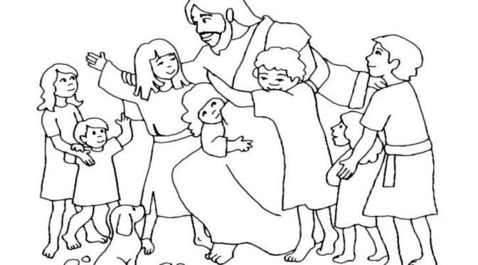 "Pfiffikus Februar 2018 ""Jesus segnet die Kinder"""